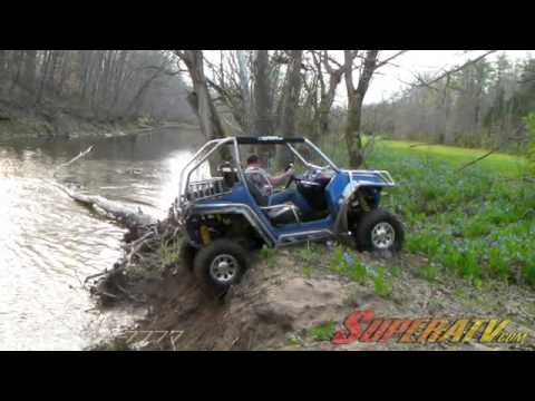 Fourwheelers For Sale >> Polaris RZR Creek Climbing - Super ATV - YouTube