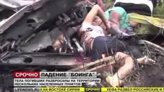 Live Malaysia airline crash in Ukrain
