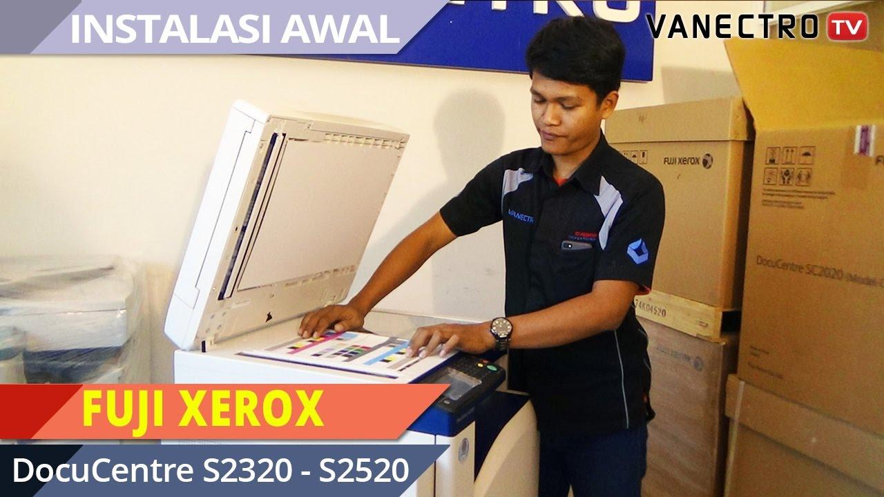MUDAH YA!! Cara install awal Mesin fotocopy #FujiXerox