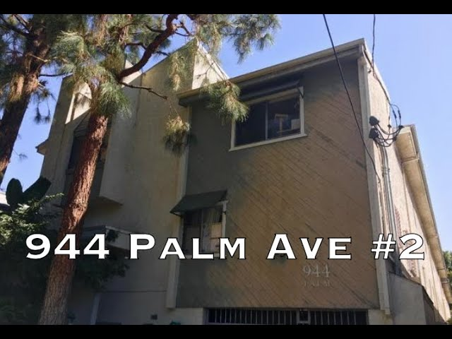 944 Palm Ave #2, Los Angeles CA 90069