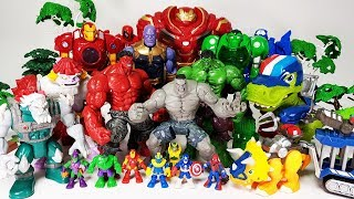 Thanos & The Villains are Coming~! Go Avengers, Hulk, Spider Man, Iron Man