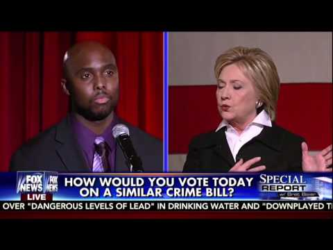 Michigan Voter Holds Clinton's Feet To The Fire On Crime Bill