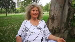 """דבורה ורדית בר אילן,מנהלת ביה""""ס לאקולוגיה הוליסטית 'שלום אמא אדמה' במדיטציה יומית למען השלום- זווית2"""