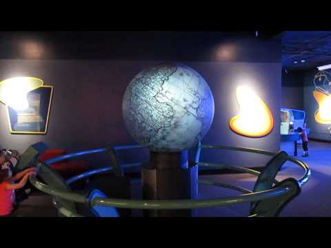 Touch Globe at Buffalo Museum of Science
