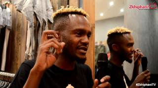 "Kwesta explains his ""Illuminati"" logo"