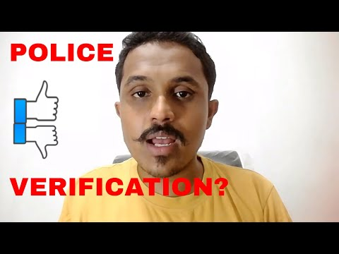 POLICE VERIFICATION PROCESS FOR PASSPORT VS REALITY ! MUST W