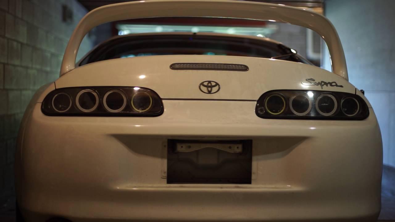 Toyota Supra 2016 >> Toyota Supra MKIV LED Tail Light Conversion Installed - YouTube