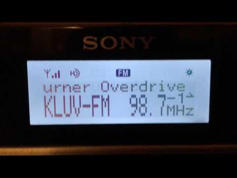 Sony XDR-F1HD HD Radio Receiver Dallas-Ft. Worth FM Stations