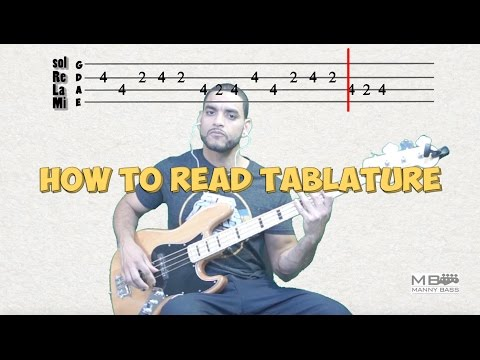 Learn to read Tablature