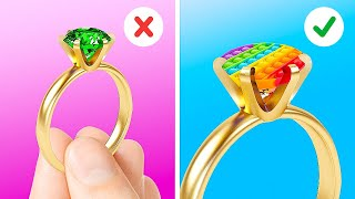 Jaw-Dropping DIY Jewelry Ideas And Mini Crafts Out Of Epoxy Resin, 3D-Pen, Clay And Glue Gun