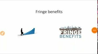 Fringe benefits | Meaning | Needs | Objective | Type | H.R.M.