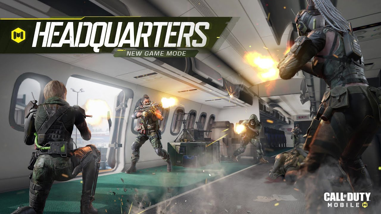 Call of Duty Mobile Mode Headquarter