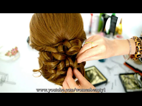 hair style for women long hair wedding prom updo hairstyle for hair tutorial 8081 | hqdefault