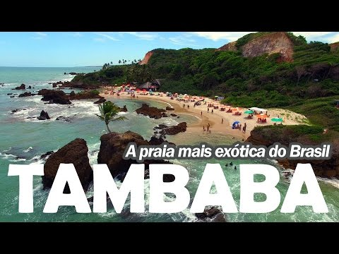 Tour Pela Praia de Tambaba na Paraíba  - A mais exótica do Brasil ( ͡° ͜ʖ ͡°)