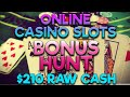 CASINO SLOTS BONUS HUNT & OPENING 18+