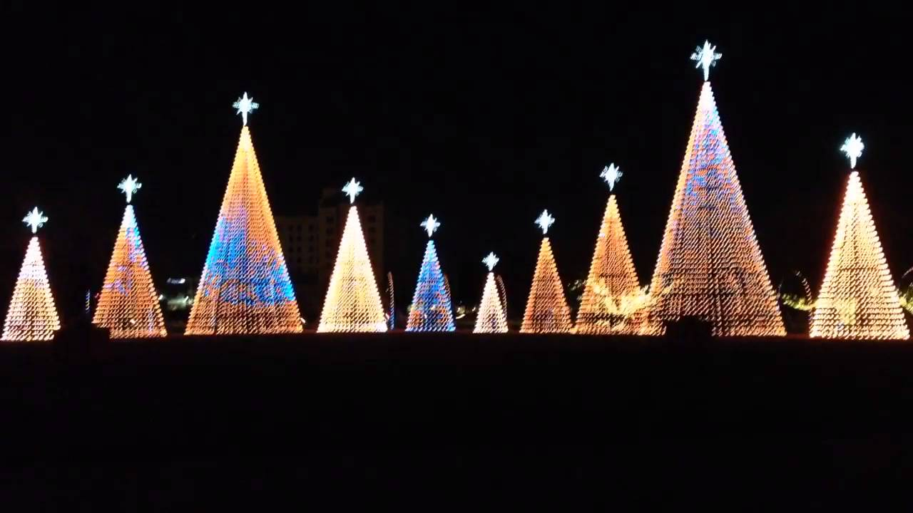 christmas lights 2015 at jones park gulfport ms