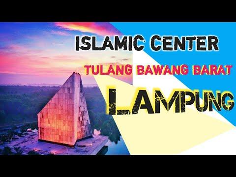 Jalan-jalan ke Wisata islamic center Tulang bawang barat | Lampung