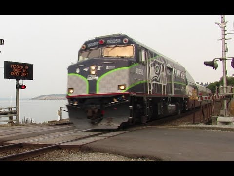 Heavy Freight Action on the Steilacoom Waterfront, featuring Amtrak 90250! 9/16/2017