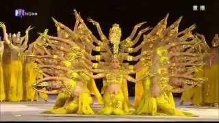 Танцы Китая.Танец тысячи рук! Просто фантастика! Dances Of China.