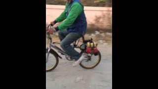 Repeat youtube video จักรยานเครื่องตัดหญ่า
