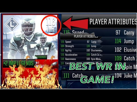 116 Overall Harold Carmichael || The BEST WR In The Game! || Come see him! || Madden Mobile 18