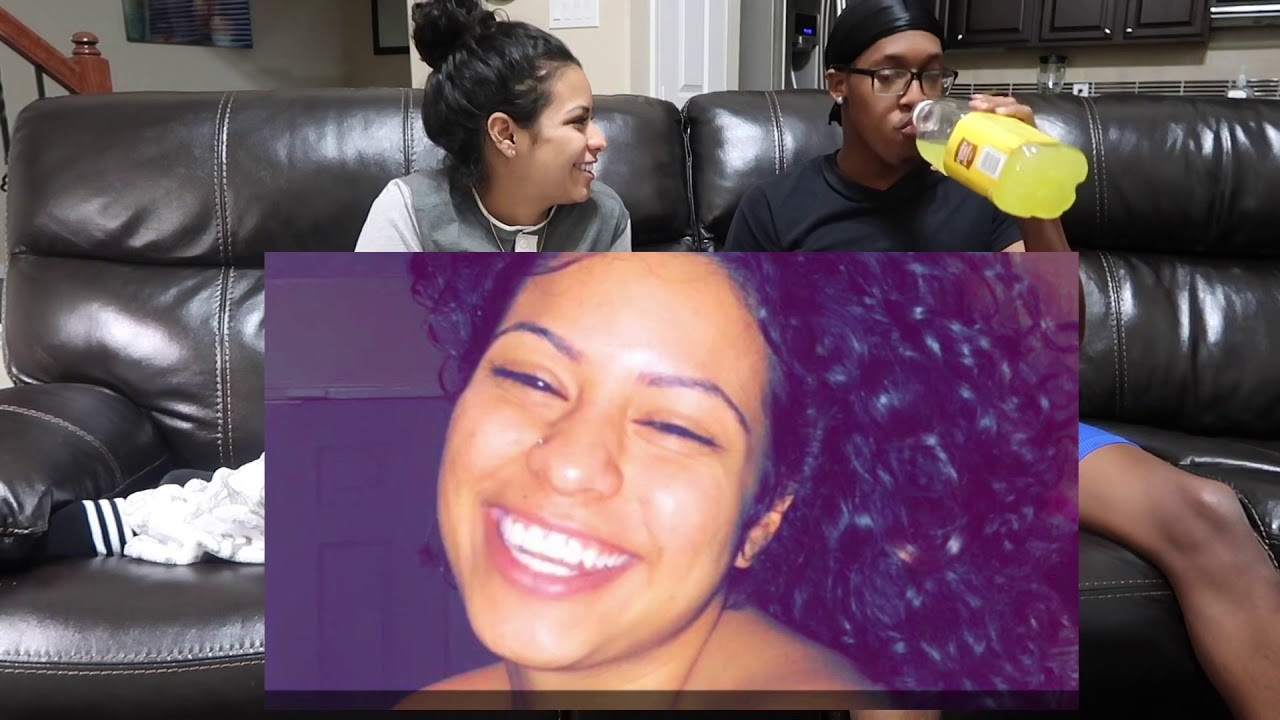 REACTING TO A TIME LINE VIDEO OF OUR RELATIONSHIP !