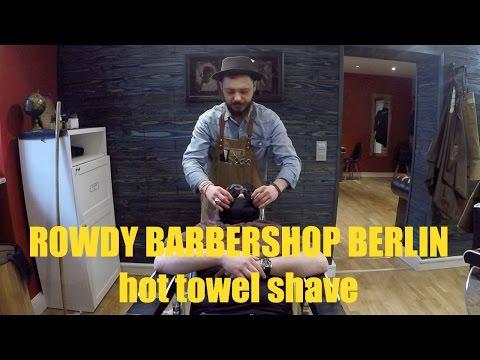 ROWDY barbershop - berlin - hot towel shave