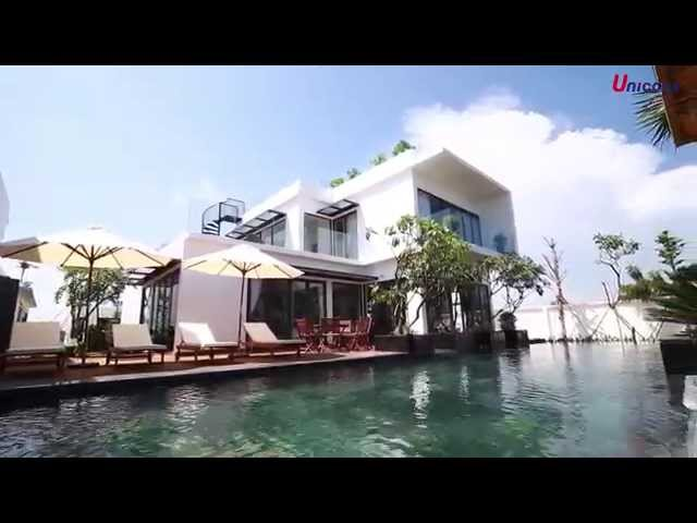 Blue Sapphire Villa in Vung Tau designed & built by Unicons Corporation