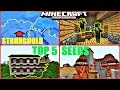 Minecraft PE - TOP 5 CRAZY SEEDS ! MANSION, ZOMBIE VILLAGE, OCEAN MONUMENT & MORE ! | MCPE 1.1