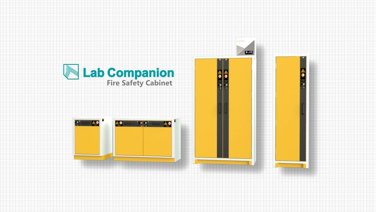 Fire and Safety Lab Cabinets from TCM