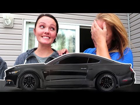 Download Youtube: SHE GOT HER DREAM CAR!!