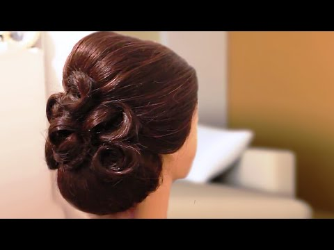 Hairstyle for Long Hair Wedding Prom Updo