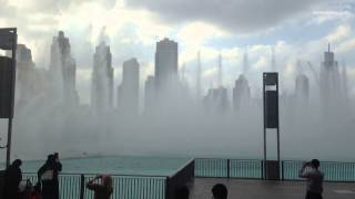 UAE National Day 2014-Dubai Mall Fountain-National Anthem-Instrumental