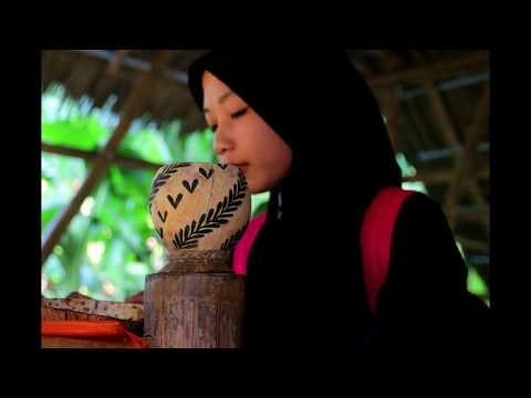 How to make beautiful lamp from coconut cell