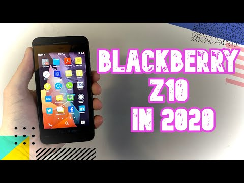 The BlackBerry Z10 In 2020!