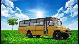 Os Ônibus Com Cara de Caminhão
