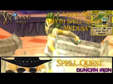 Download Wizard101 Getting Medusa Quest Lvl 58 Myth Spell MP3, MKV