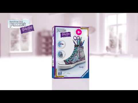 puzzle 3d scarpa converse