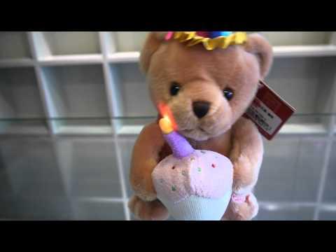 ตุ๊กตาหมีร้องเพลงอวยพรวันเกิด