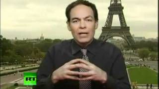 Max Keiser  Germany and China will be worlds only superpowers