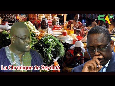 Chronique: Hausse des prix, cherté de la vie, l'impuissance de l'Etat...: Seydina assène ses vérités