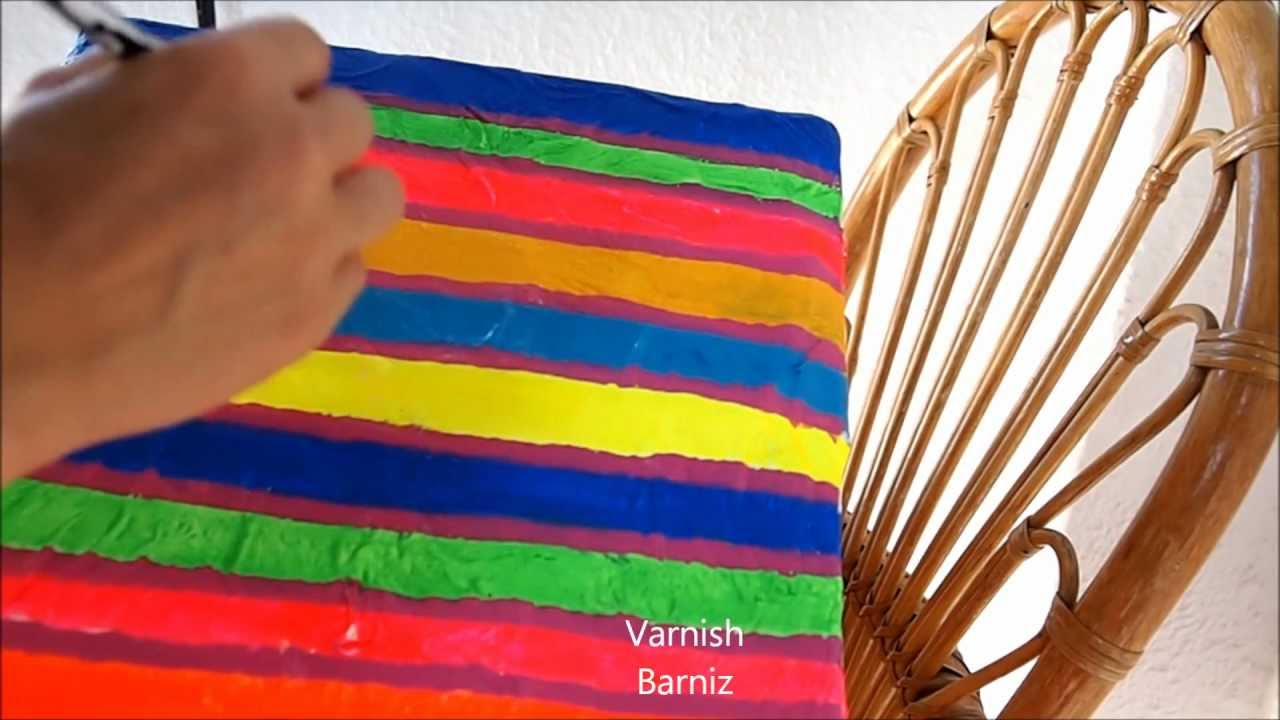 Diy Papier Mache Box - Manualidades: Caja de Papel Maché - YouTube