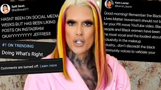 Jeffree Star is NOT 'Doing What's Right'...