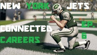 MADDEN 13 | Jets Connected Careers Ep. 6: Pearce Demoted? More Drama From Jets Camp...