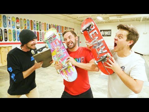 NEW GAME OF SKATE WAR! / Andy VS Alex VS Casey