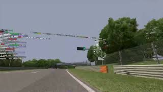 Live for Speed VR - Valve Index - Tracking Test - Wheel Thrustmaster T300