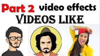 {HINDI} partie 2 créer modifier ou faire des vidéos comme bb ki vignes, dur beniwal, effectuer minati, superwoman