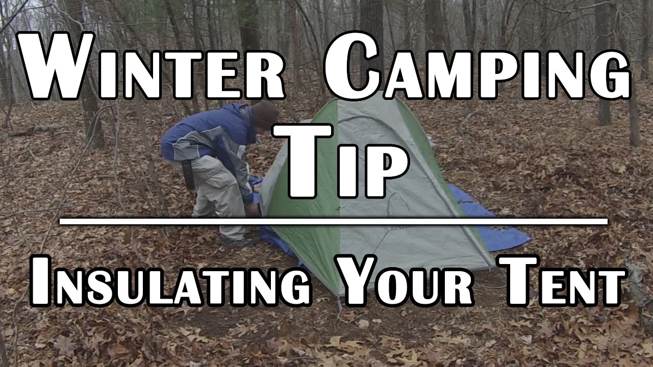 Winter C&ing Tip - Insulating Your Tent for Cold Weather - Deranged Survival - YouTube & Winter Camping Tip - Insulating Your Tent for Cold Weather ...