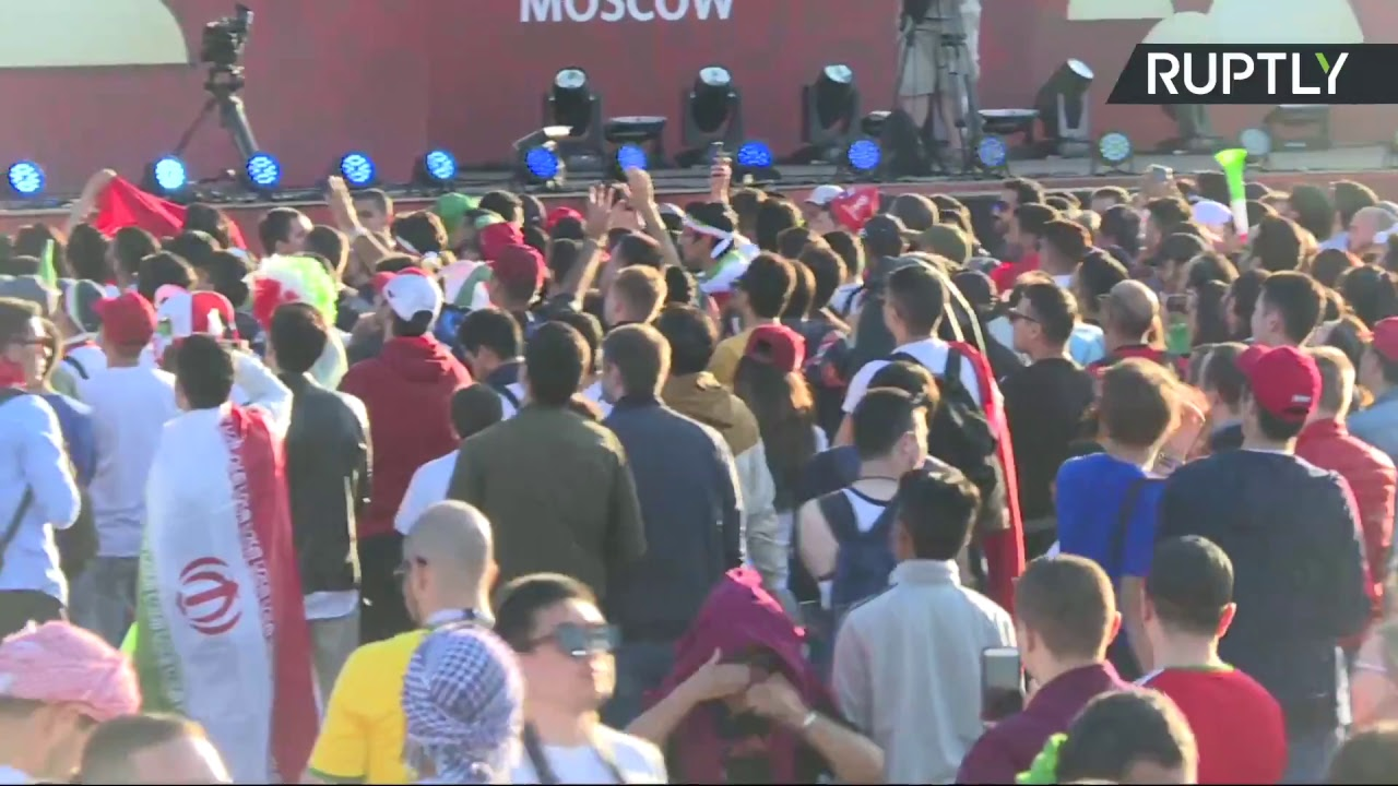 В Москве проходит Фестиваль болельщиков