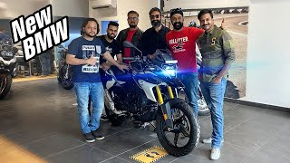 Taking Delivery of New BMW g310 GS